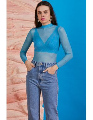 Body Leila - Azul Anis