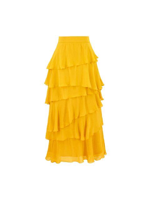 Saia Karen - Amarelo Solar
