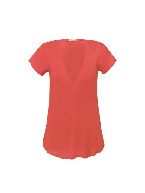 T-Shirt Vic - Marrom Chilli