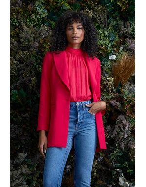 Blazer Vallery - Vermelho Scarlet