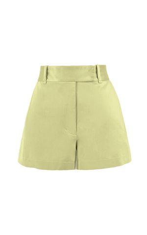 Shorts Lia - Amarelo Manteiga