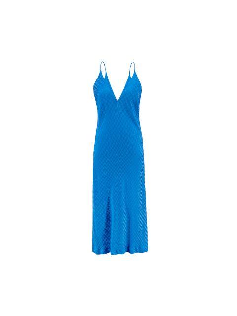 Vestido Flora - Azul Mediterraneo