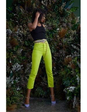 Calça Jeans Selma - Verde Pistache