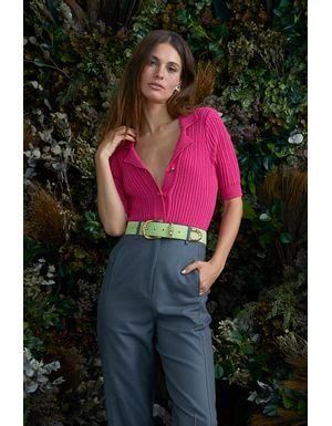 Body Tricot Stephanie - Rosa Magenta