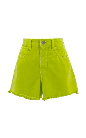 Shorts Jeans Grazi - Verde Pistache