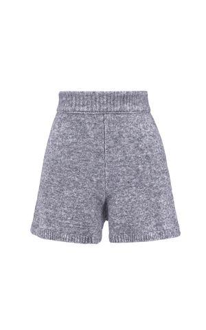 Shorts Tricot Nunu - Cinza Niquel