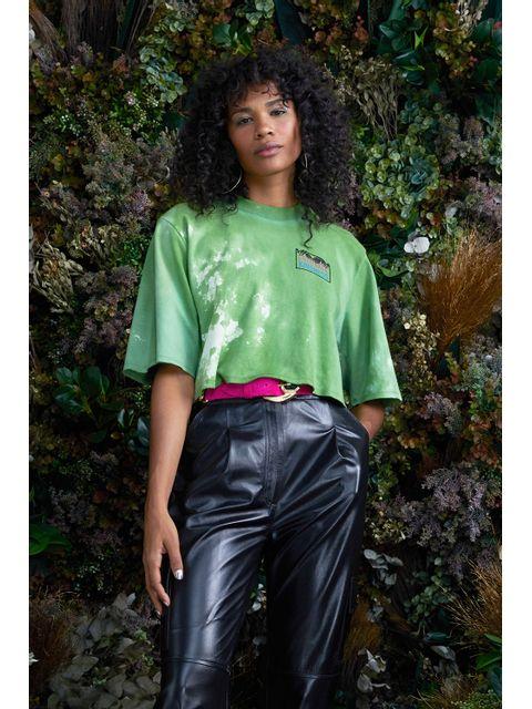 T-Shirt Renata - Verde Pistache