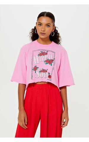 T-Shirt Safira - Rosa Gum