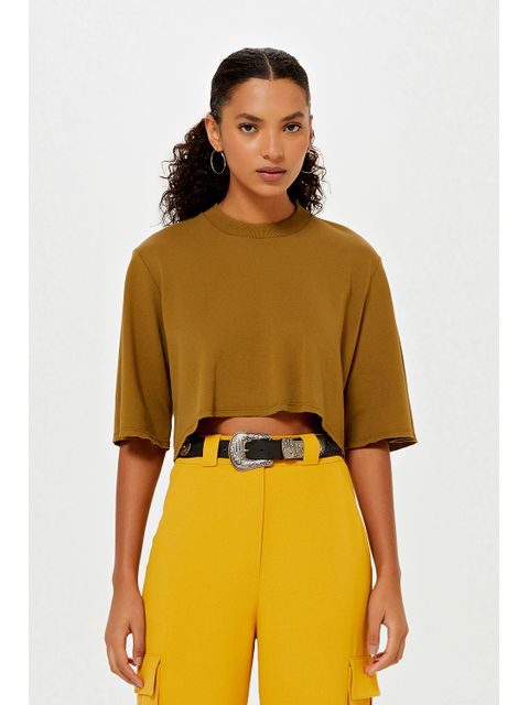 T-Shirt Cibele - Verde Army