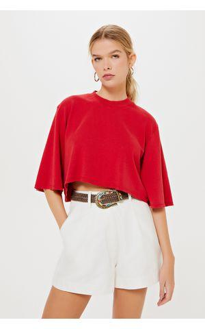 T-Shirt Cibele - Vermelho Berry