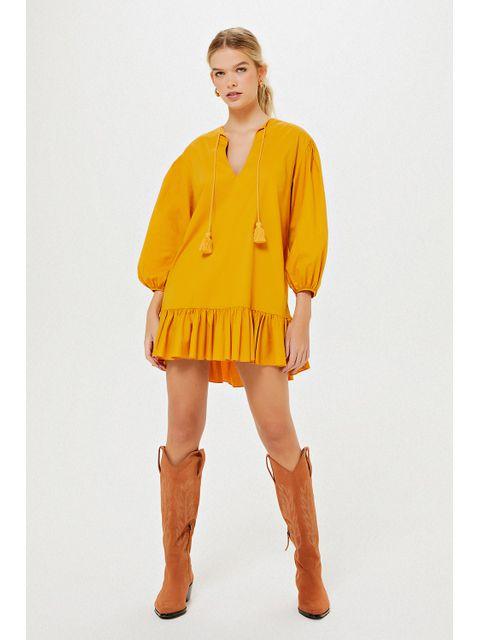 Vestido Duda - Amarelo Dijon