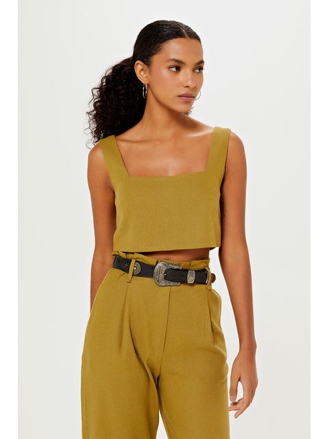 Cropped Penny - Verde Army