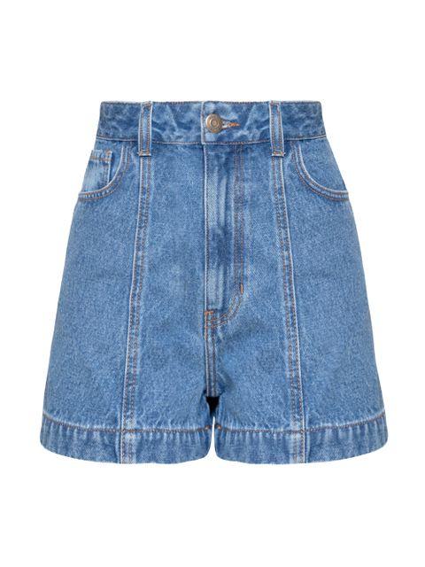 Shorts Jeans Keila - Jeans Médio