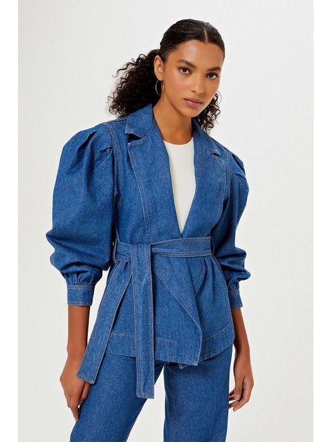 Kimono Jeans Adria - Jeans Médio