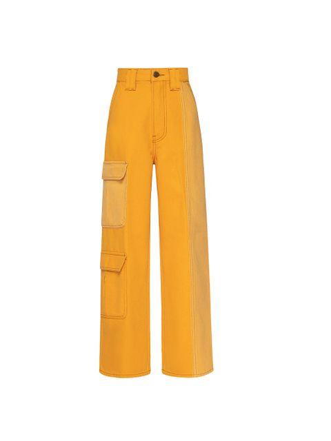 Calça Jeans Santana - Amarelo Dijon