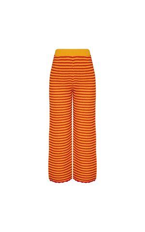 Calça Tricot Brigida - Amarelo Dijon