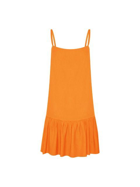 Vestido Gigi - Laranja Spritz