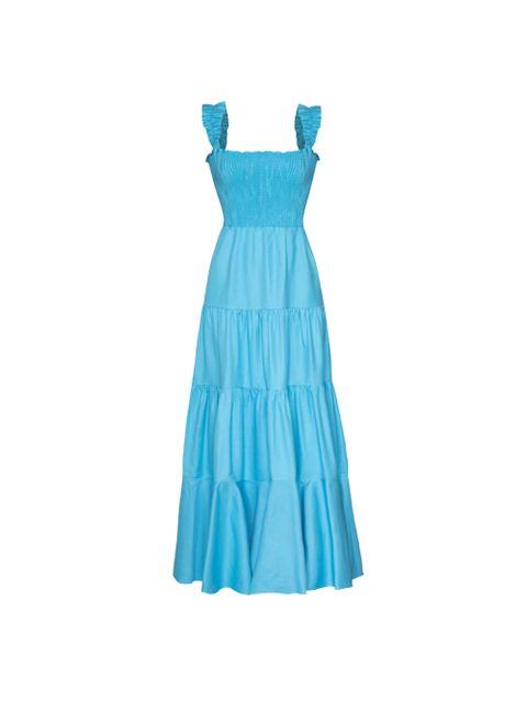 Vestido Amabile - Azul Curaçau
