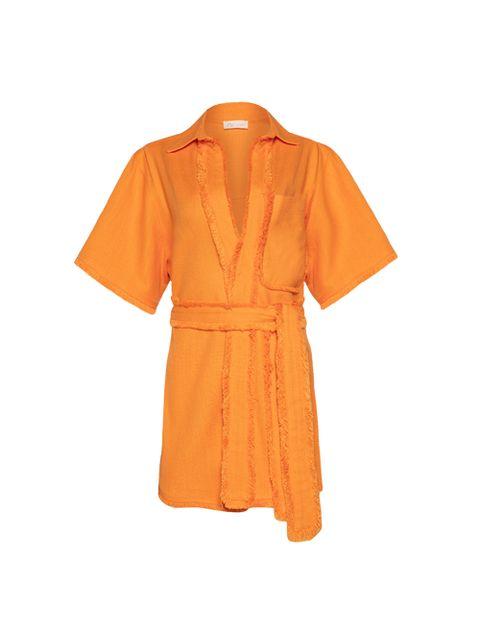 Camisa Selena - Laranja Spritz