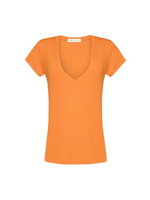 T-Shirt Vic - Laranja Spritz