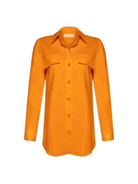Camisa Claire - Laranja Spritz