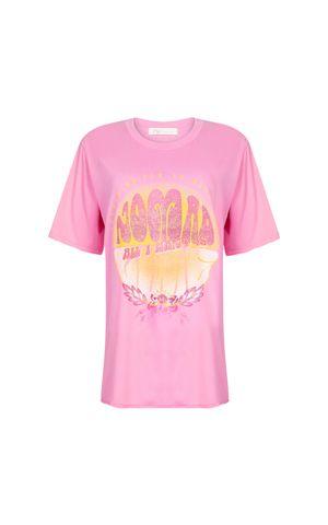 T-Shirt Tatiane - Rosa Gum