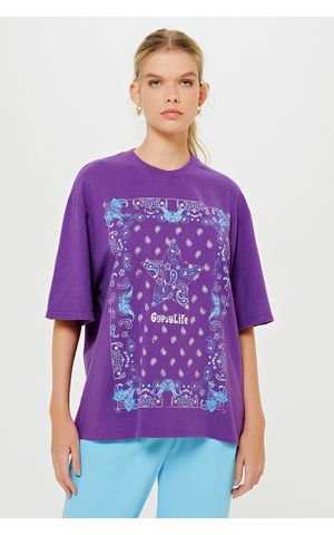 T-Shirt Fani - Roxo Violeta