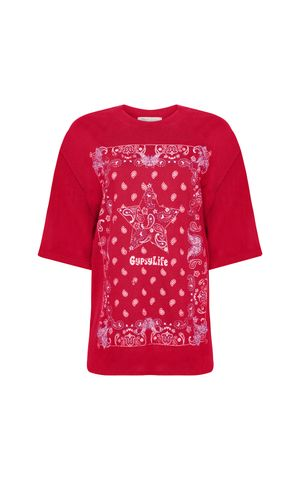 T-Shirt Fani - Vermelho Berry