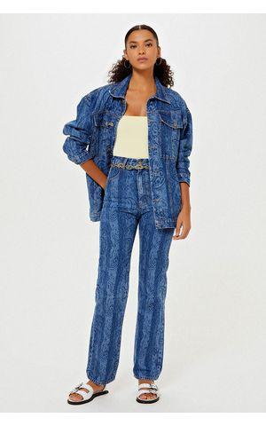 Calça Jeans Jasmin - Jeans Escuro