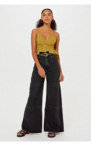 Calça Jeans Isadora - Jeans Black