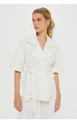 Kimono Jeans Eliana - Off White