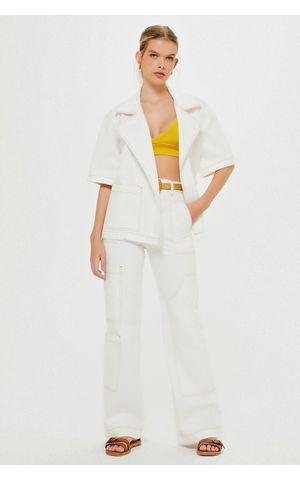 Calça Jeans Nicoly - Off White