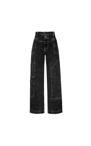 Calça Jeans Nicoly - Preto