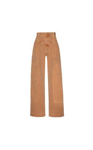 Calça Jeans Nicoly - Marrom Conhaque