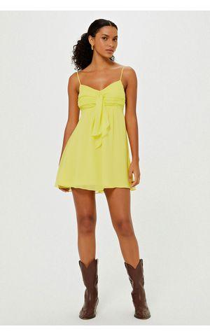 Vestido Jessica - Amarelo Pina