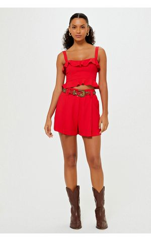 Shorts Beth - Vermelho Berry
