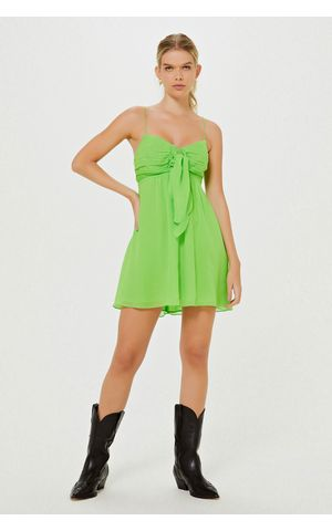 Vestido Jessica - Verde Paradise