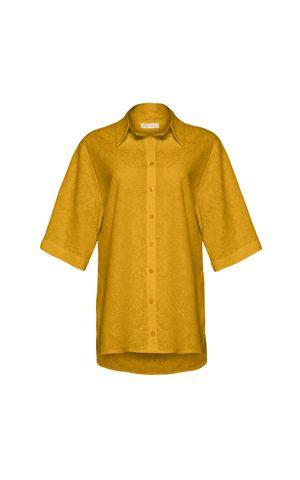 Camisa Mica - Amarelo Dijon